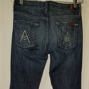 7 For All Mankind Womens A Pocket Size 25